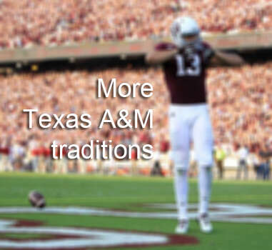Besides drowning their class rings in a mug of beer at Dixie Chicken, many Aggies also participate in these long-held Texas A&M traditions.