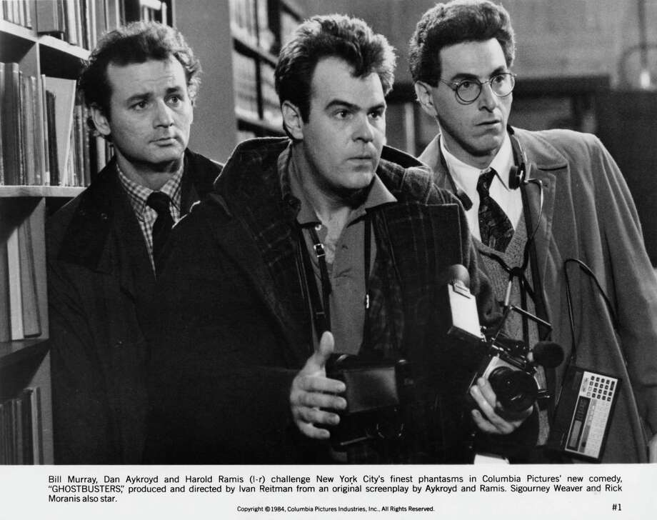 "Bill Murray, Dan Aykroyd and Harold Ramis were all alumni of the famous Chicago-based improv comedy theater, The Second City. Murray and Aykroyd were also ""Saturday Night Live"" cast members. Photo: Columbia Pictures, Getty / 2014 Columbia Pictures"