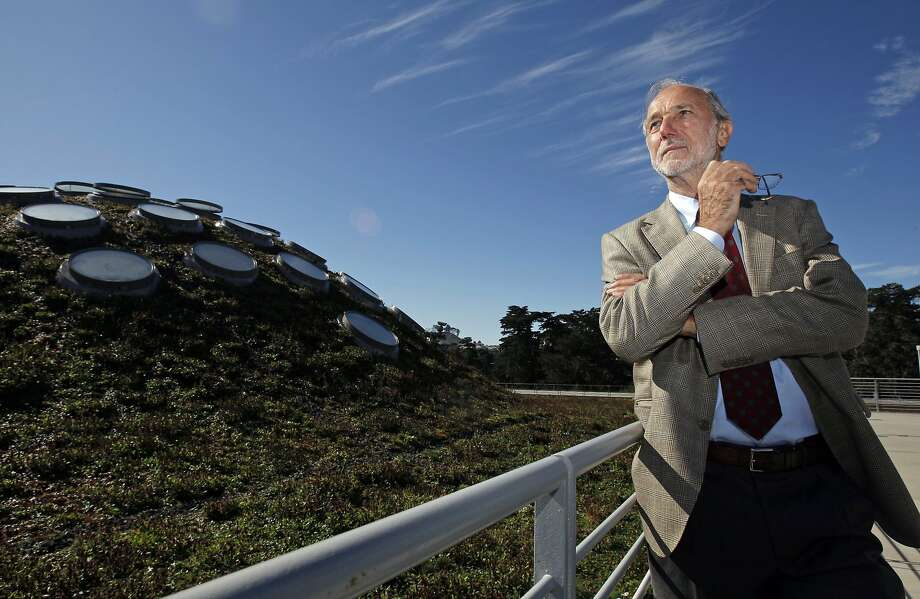 Renzo Piano, architect of the proposed San Ramon City Center, at the 2008 opening of another of his creations: the California Academy of Sciences in Golden Gate Park in San Francisco. Photo: Michael Macor, The Chronicle