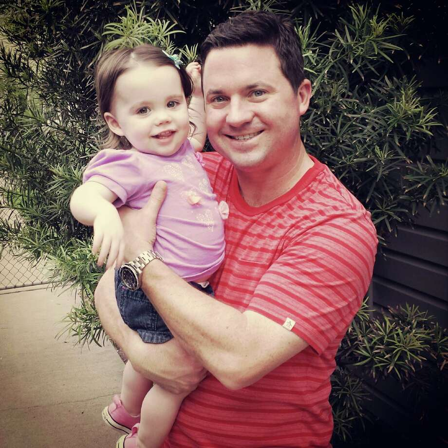 My husband is an amazing dad because he knows how to make our little girl smile.  Whether he's singing or dancing around, Ella is always laughing and smiling when dad's around.  He is the most wonderful father in the world! Photo: TK