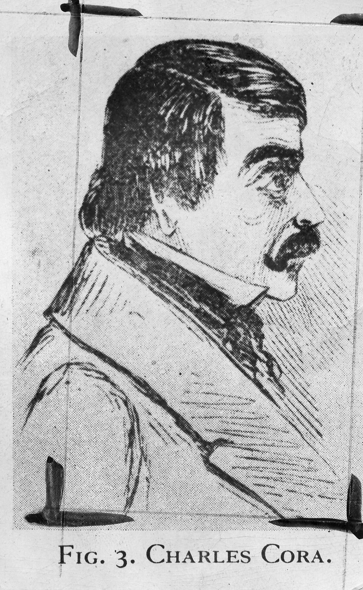 Charles Cora was a debonair blade who was one of the town's leading professional gamblers.
