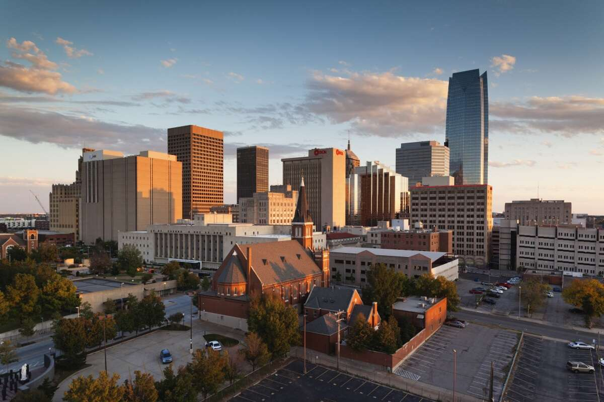 8. Oklahoma City, Oklahoma Overall satisfaction rating: 3.3 Most in-demand jobs: Sales associate, cook, occupational therapist Highest-rated companies hiring in Oklahoma City: University of Oklahoma, Oklahoma State, Chesapeake Energy