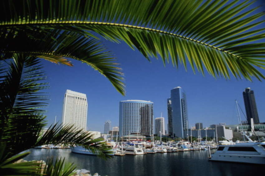 2) San Diego, California - The southern California city is the No. 1 destination in the state and second in the country.