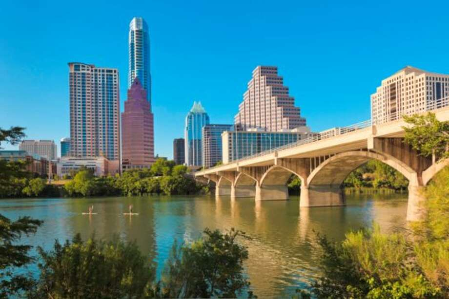 10. Austin, TexasOverall satisfaction rating: 3.3 Most in-demand jobs: Software engineer, business analyst, staff accountant Highest-rated companies hiring in Austin: HomeAway, University of Texas at Austin, National Instruments Photo: David Sucsy, Getty Images