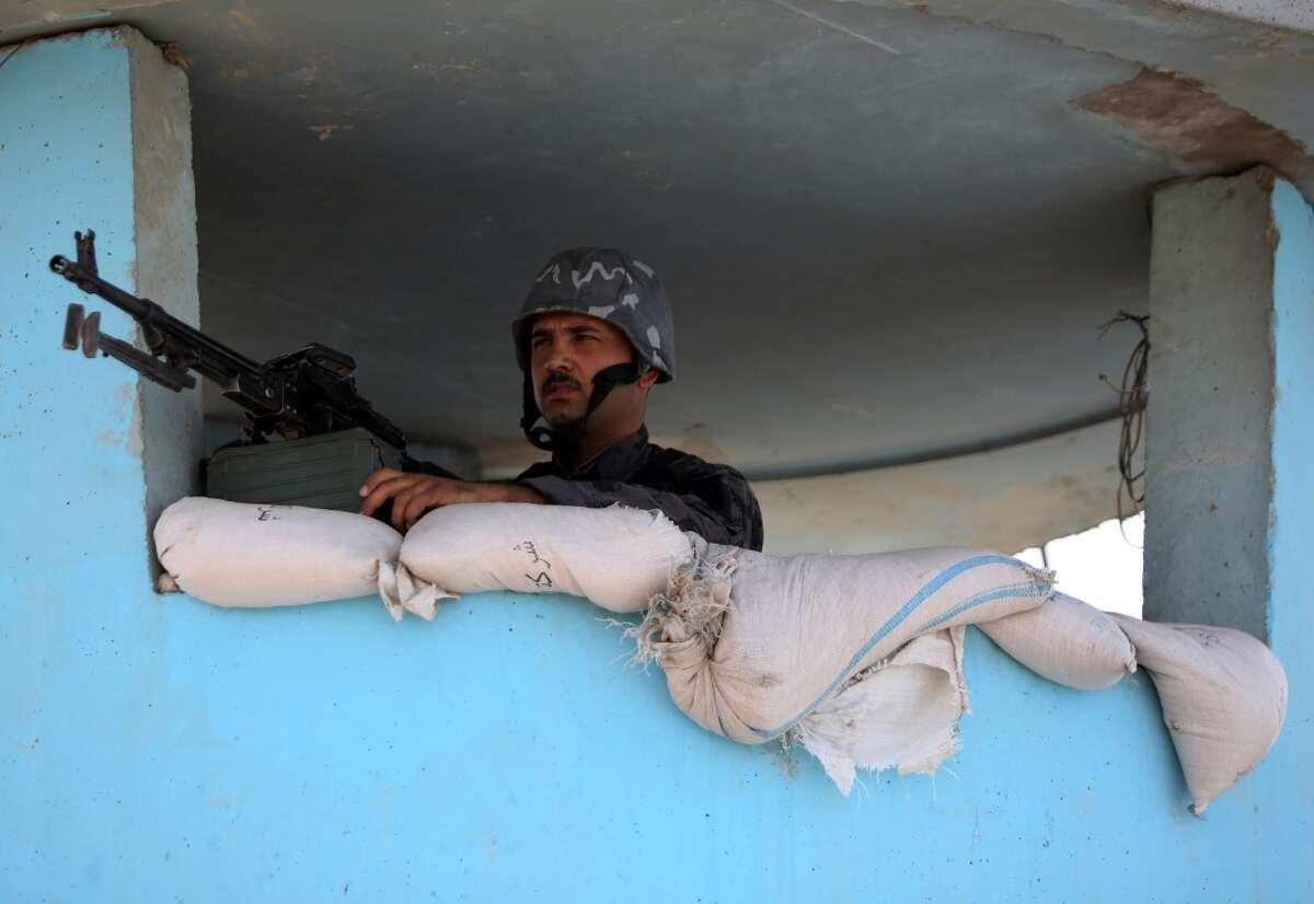 PHOTO / AHMAD AL-RUBAYEAHMAD AL-RUBAYE/AFP/Getty Images