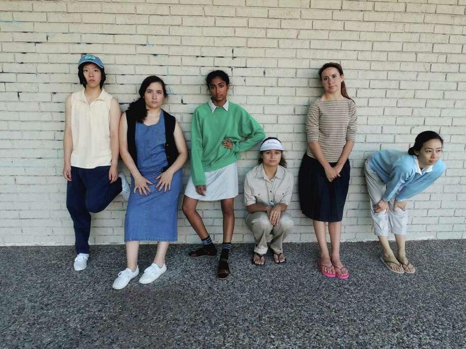 "Dancers Prudence Sun, from left, Lena Silva, Somya Gupta, Anastasiya Kopteva, Jessica Stewart and Sarah Leung perform in Jennifer Wood's ""The Normal Corporation."" Photo: Jennifer Wood / ONLINE_YES"