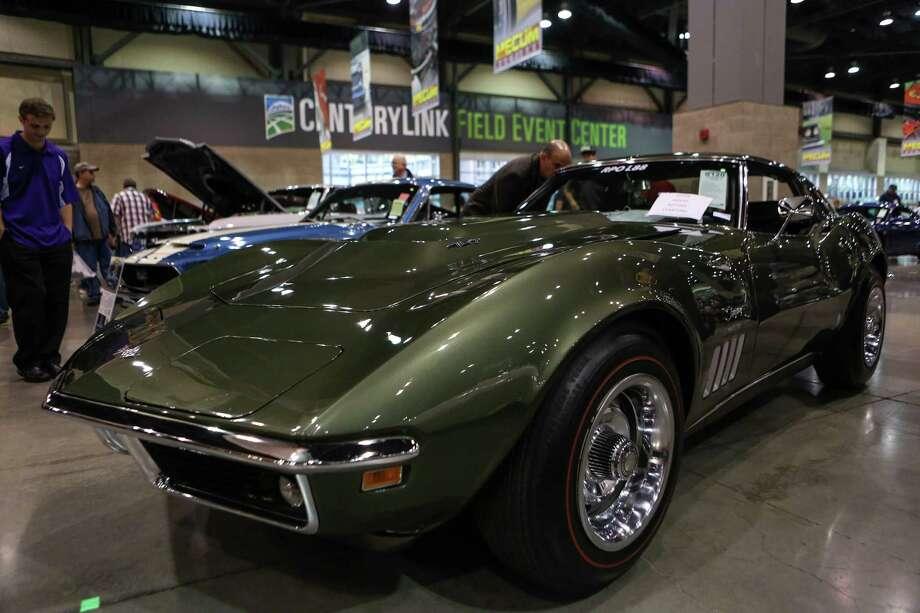 A 1969 Corvette L88 Coupe is shown. Photo: JOSHUA TRUJILLO, SEATTLEPI.COM / SEATTLEPI.COM