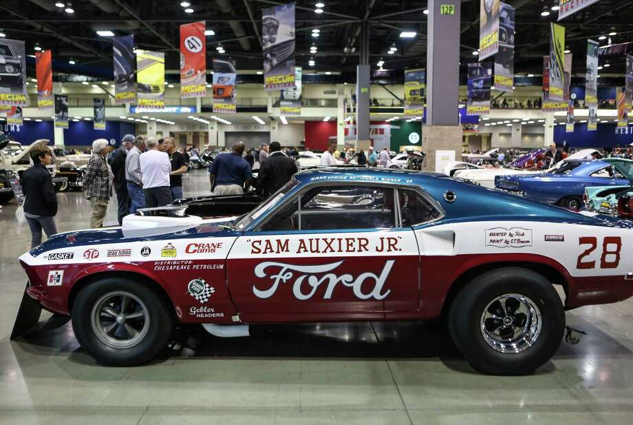 A 1969 Ford Mustang Mach One is shown. Photo: JOSHUA TRUJILLO, SEATTLEPI.COM / SEATTLEPI.COM
