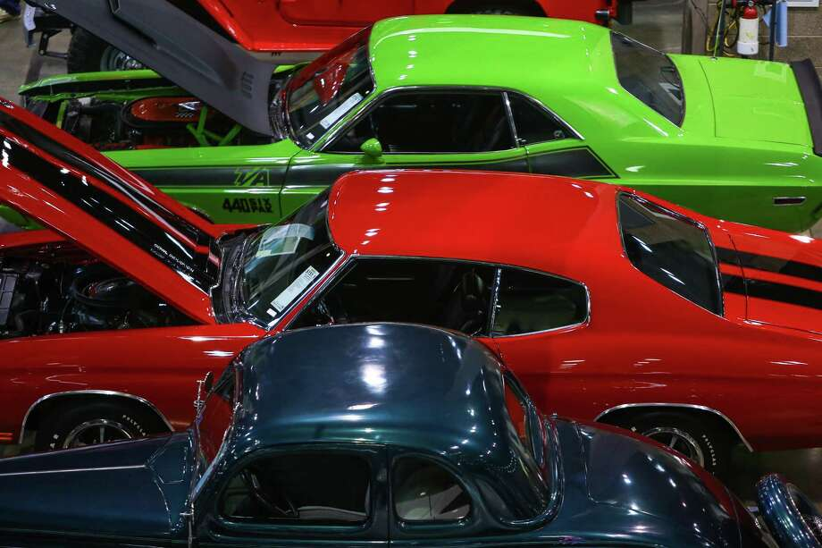 Cars are shown during the Mecum rare and collector car auction. Photo: JOSHUA TRUJILLO, SEATTLEPI.COM / SEATTLEPI.COM