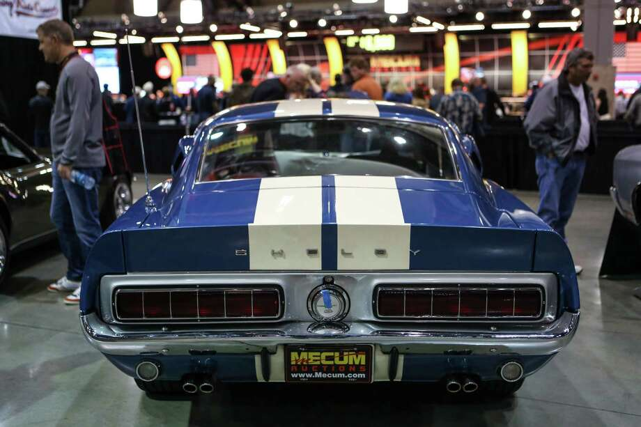 A 1968 Mustang Shelby GT 500KR is shown during the Mecum rare and collector car auction. Photo: JOSHUA TRUJILLO, SEATTLEPI.COM / SEATTLEPI.COM