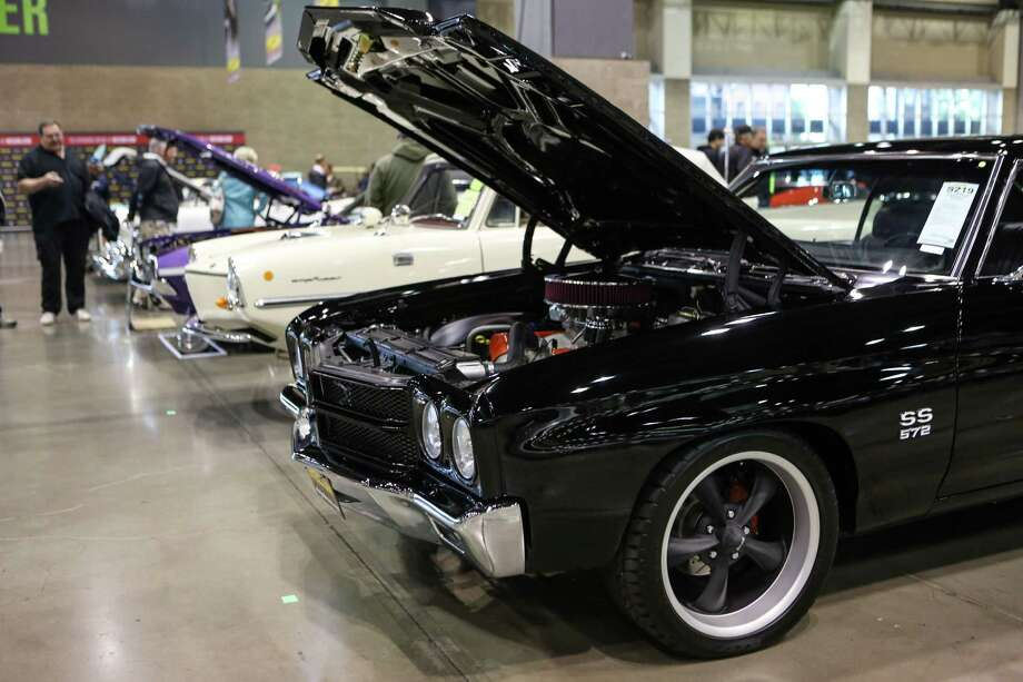 A 1970 Chevy Chevelle is shown during the Mecum rare and collector car auction. Photo: JOSHUA TRUJILLO, SEATTLEPI.COM / SEATTLEPI.COM