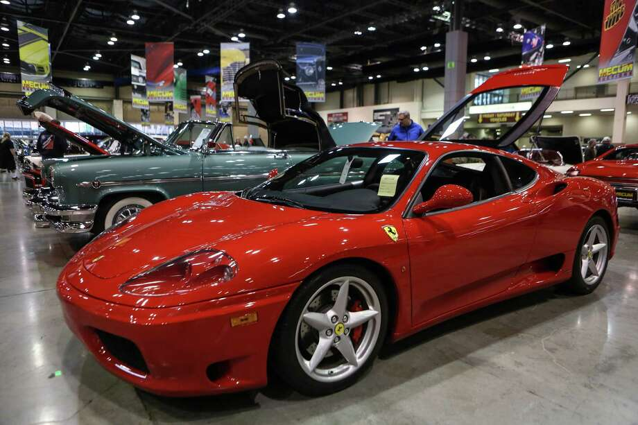 A Ferrari is shown during the Mecum rare and collector car auction. Photo: JOSHUA TRUJILLO, SEATTLEPI.COM / SEATTLEPI.COM