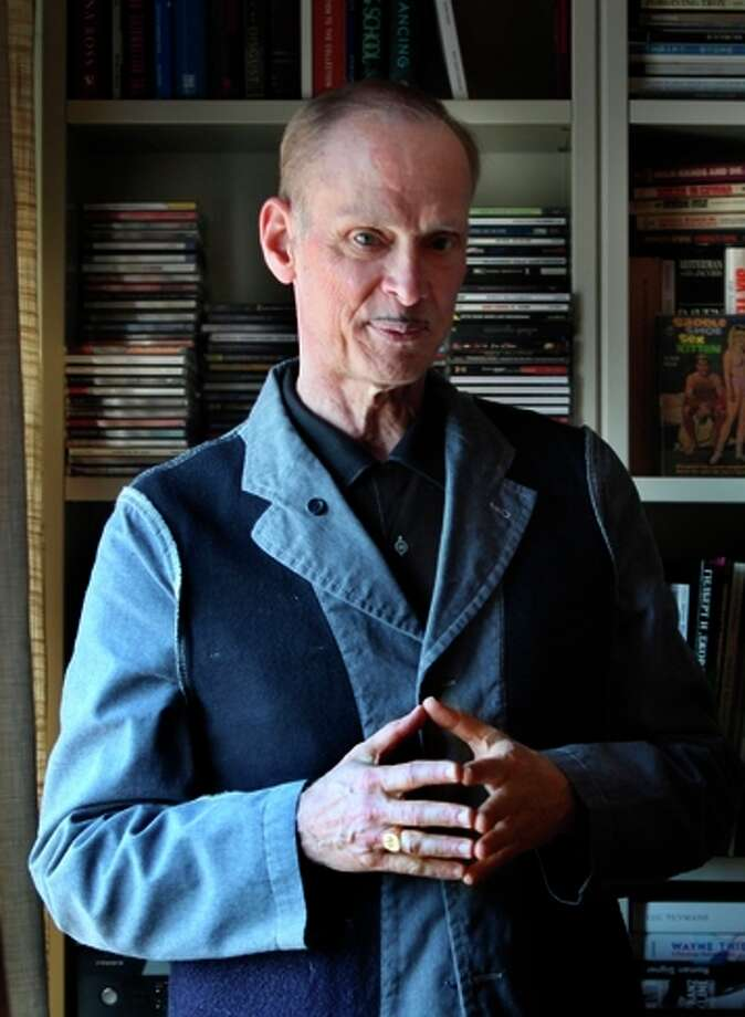 John Waters likes holiday traditions, including his S&M wreath. Photo: Liz Hafalia/The Chronicle / Liz Hafalia / The Chronicle 2010 / ONLINE_YES