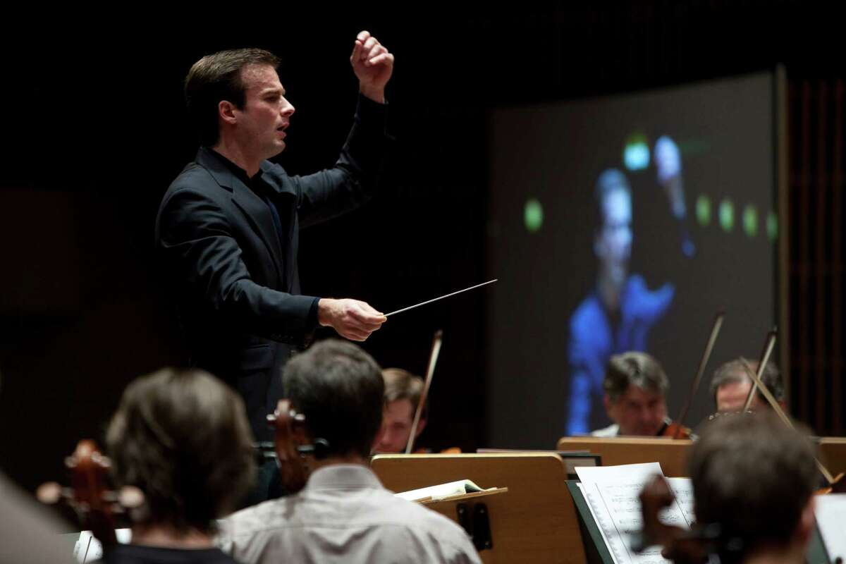 Vladimir Kulenovic will conduct the Houston Symphony in the Miller Outdoor Theatre.