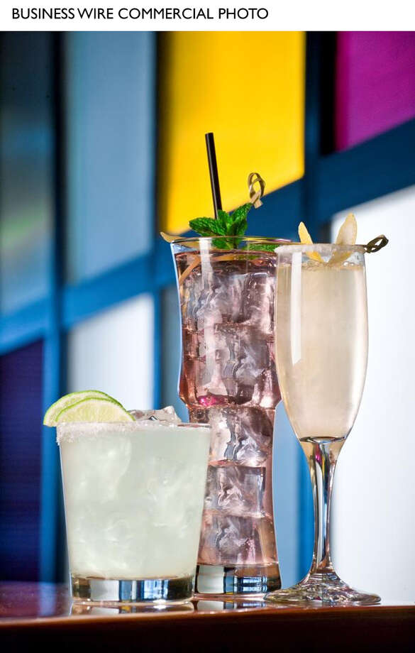P.F. Chang's new cool cocktails include (from left) Organic Agave Margarita, Plum Collins, and the Chinese 88. (Photo: Business Wire) Photo: K. Chris Bassett / P.F. Chang's China Bistro, Inc.