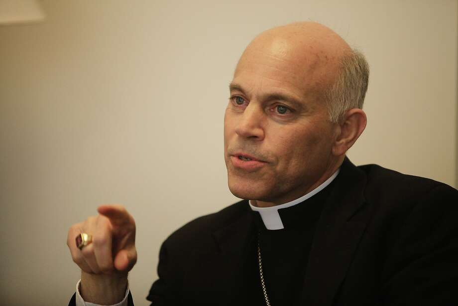 An online petition is asking Archbishop Salvatore Cordileone to not attend a rally against marriage for same-sex couples. Photo: Lea Suzuki, The Chronicle
