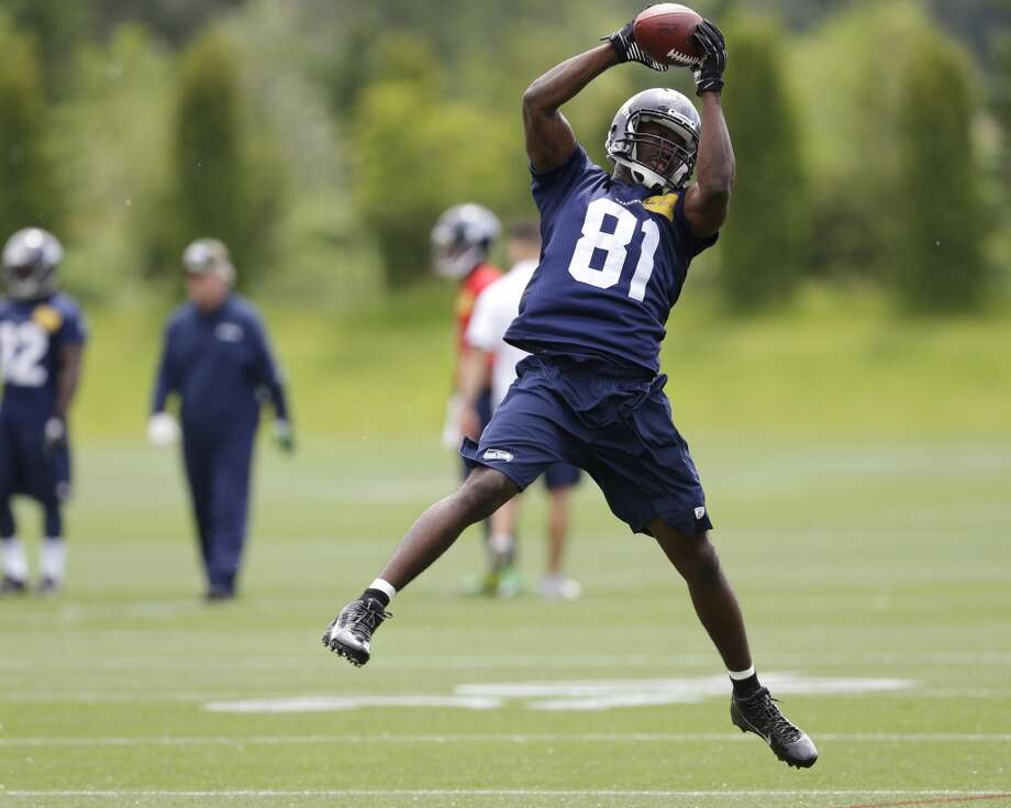 9. Player of OTAs: Offense Norwood. Unlike top pick and fellow receiver Paul Richardson, Norwood was able to stay on the field and participate in each of the OTA sessions open to the press. He made the most of the opportunity, impressing with this strong hands and ability to catch the ball in traffic. He doesn't have explosive speed, but his route running and savvy help him to get just open enough to make plays on the ball. Also in the running: Michael, guard James Carpenter and wide receiver Arceto Clark. Photo: Ted S. Warren, Associated Press