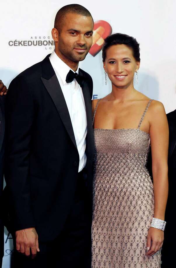 Just days later, Tony Parker and his girlfriend Axelle Francine welcomed a son named Josh Parker on April 30. Photo: VALERY HACHE, Getty Images / 2012 AFP