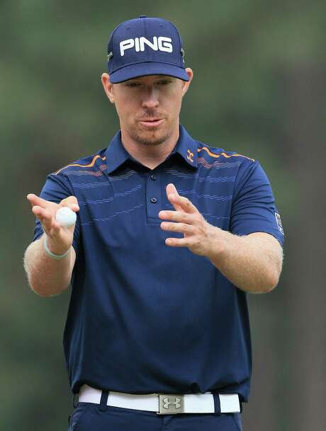 PINEHURST, NC - JUNE 13:  Hunter Mahan of the United States waits on the 12th green during the second round of the 114th U.S. Open at Pinehurst Resort & Country Club, Course No. 2 on June 13, 2014 in Pinehurst, North Carolina.  (Photo by David Cannon/Getty Images) Photo: David Cannon, Staff / 2014 Getty Images