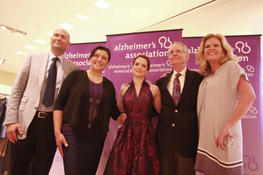 The second annual Celebrating Hope 2014 benefit raised funds for the  Alzheimer's Association Connecticut Chapter on Friday, June 13. Actress  Kimberly Williams-Paisley, along with her father Gurney Williams III,  shared the challenges of having a mother who suffers with dementia. The  event, held at Richards of Greenwich,  also included cocktails and a  silent auction. More photos from this event  Photo: Derek T.Sterling, Hearst Connecticut Media Group