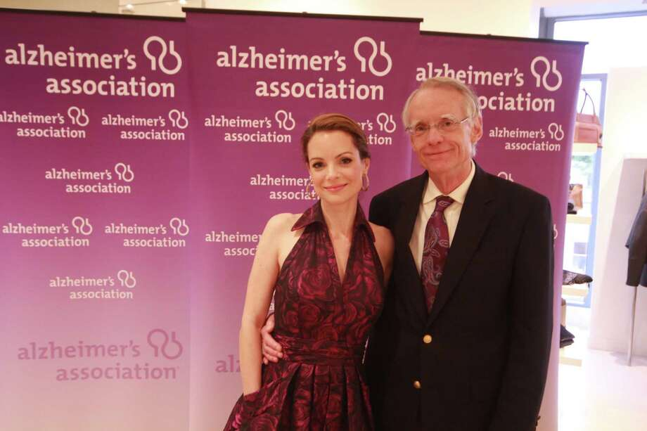 The second annual Celebrating Hope 2014 benefit raised funds for the Alzheimer's Association Connecticut Chapter on Friday, June 13. Actress Kimberly Williams-Paisley, along with her father Gurney Williams III, shared the challenges of having a mother who suffers with dementia. The event, held at Richards of Greenwich,  also included cocktails and a silent auction. Were you SEEN? Photo: Derek T.Sterling, Hearst Connecticut Media Group
