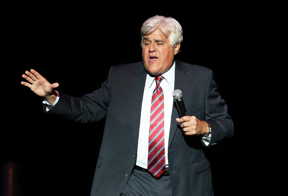 Jay Leno plays at the Majestic Theater on June 13, 2014. Photo: TOM REEL