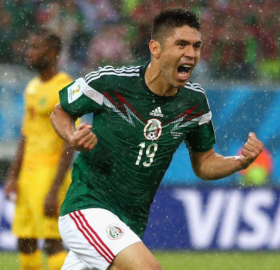 Mexico striker Oribe Peralta, a nonfactor during most of the first half Friday, broke a 0-0 tie with a goal in the 61st minute. Photo: Julian Finney / Getty Images / 2014 Getty Images