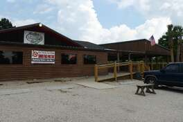 Pictured is the exterior of the Pine Tree Lodge on Friday afternoon. Pine Tree Lodge on Taylor Bayou is the Cat5 Bar of the Week for June 5, 2014. Photo taken Friday 5/30/14 Jake Daniels/@JakeD_in_SETX