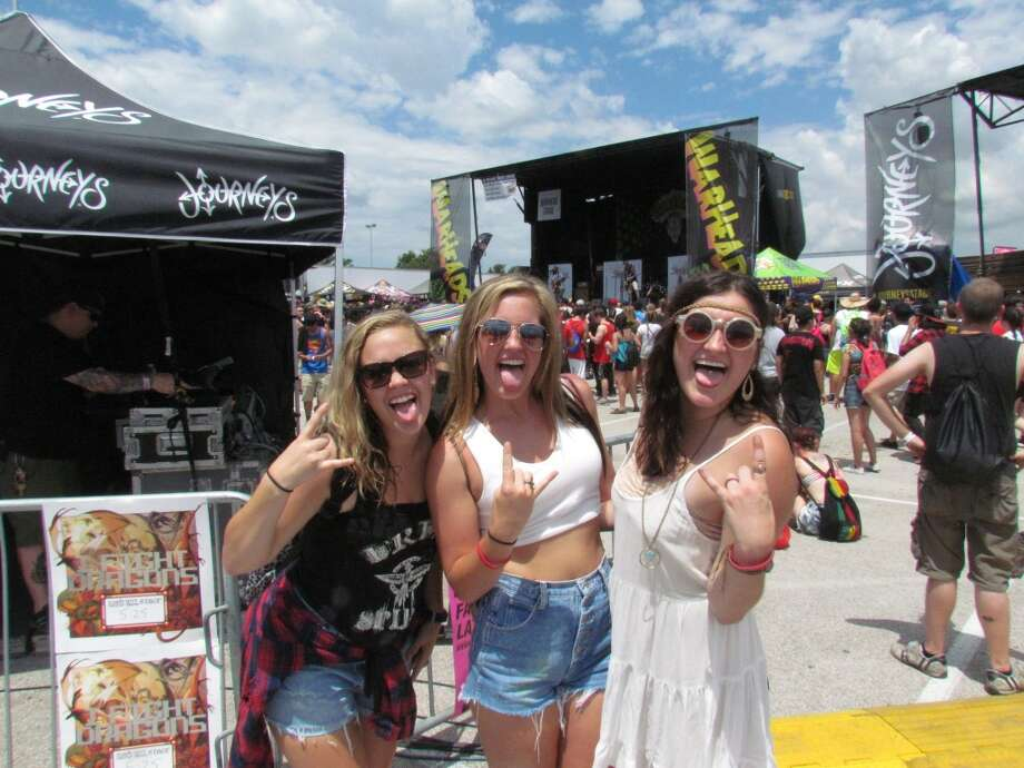 The 20th anniversary of the Warped Tour launched in Houston this year. Photo: Mike Damante, For The Chronicle