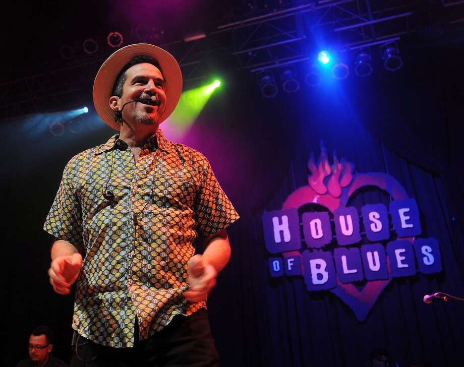 Walter Suhr and Mango Punch perform at the Kick It! Live Brazilian Bash at the House of Blues downtown Friday June 13, 2014.(Dave Rossman photo) Photo: For The Houston Chronicle