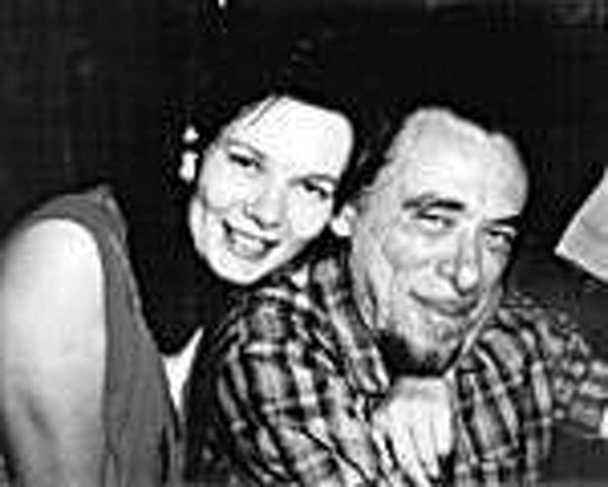 King with Bukowski circa 1972