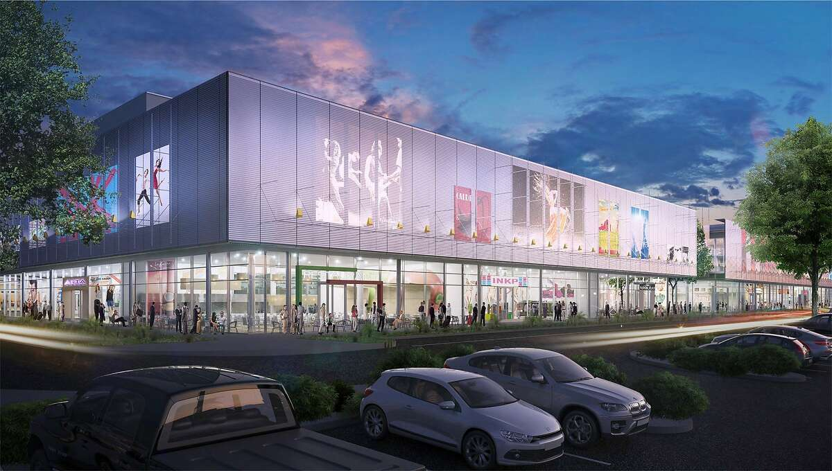 A rendering at dusk of the proposed San Ramon City Center, designed by renowned Italian architect Renzo Piano and his firm.