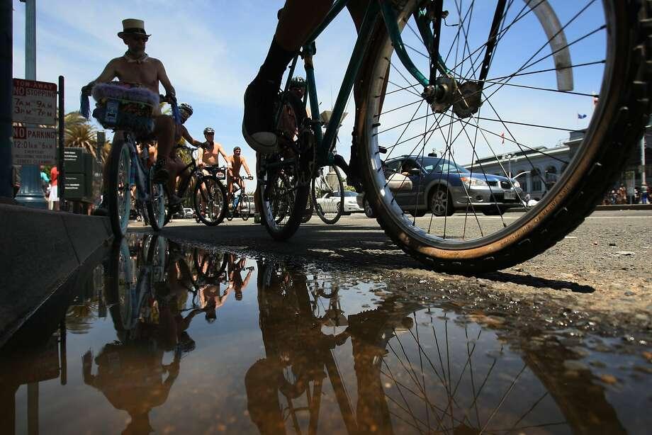 World Naked Bike Ride In San Francisco - Sfgate-6401