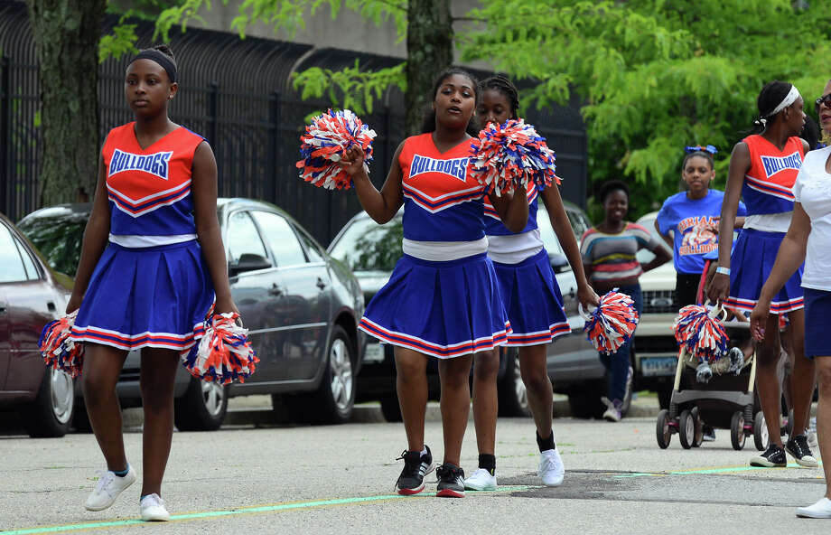 The Annual Juneteenth African-American Caribbean Freedom Day Parade held in downtown Bridgeport, Conn. on Saturday June 14, 2014. Photo: Christian Abraham / Connecticut Post