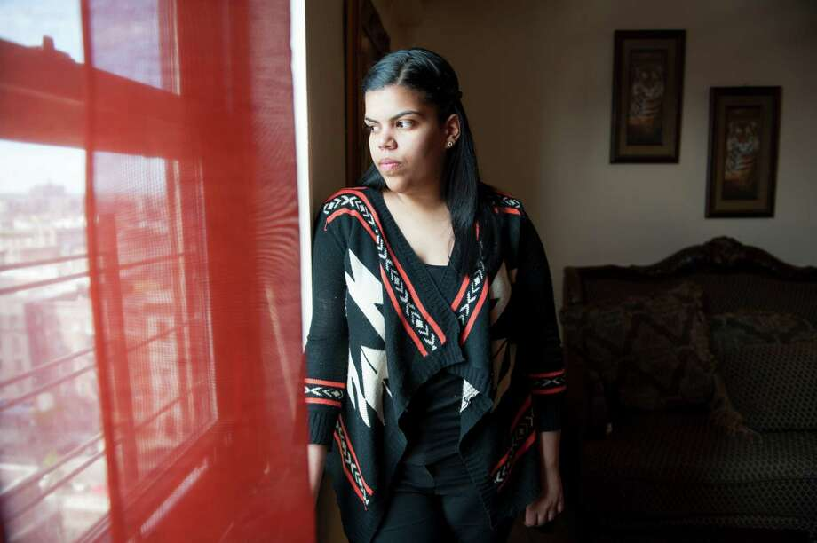 Yubelkis Matias, among the millions with fatty liver disease, says she struggles to make healthy eating choices because fast food is cheap and readily available. Photo: NANCY BOROWICK, STR / NYTNS