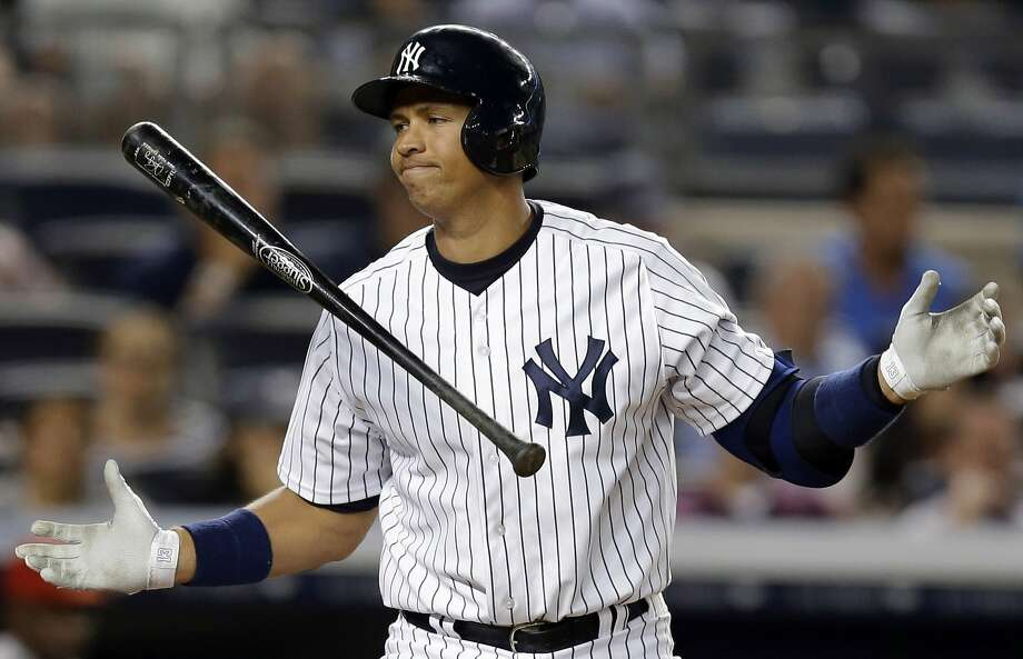The A's haven't seen Alex Rodriguez in a game since July 2012 and the question remains whether New York will see him in a Yankees uniform after he serves his yearlong suspension. Photo: Kathy Willens, Associated Press