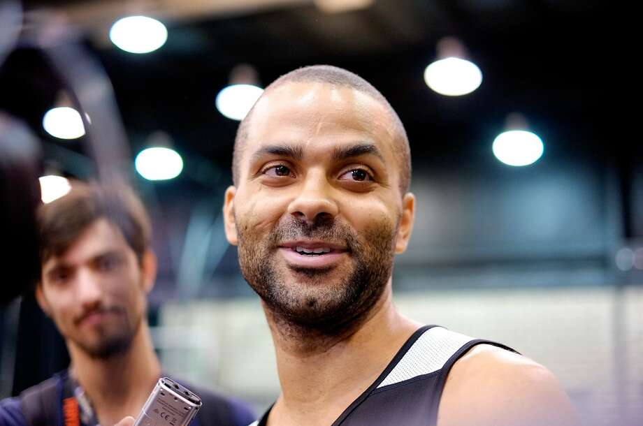 "Tony Parker says the ""Big 3"" aren't title winners without a supporting cast. Photo: Alex Trautwig, Getty Images"