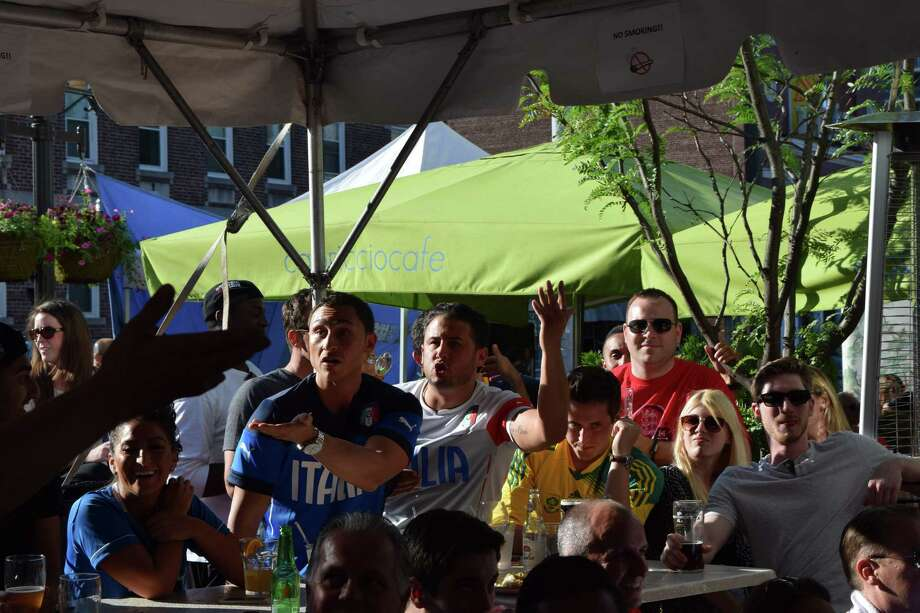 England and Italy faced off in the World Cup on Saturday, June 14. Were you SEEN cheering on the teams at Tigin Irish Pub and Capriccio Café in Stamford? Photo: Todd Tracy / Hearst Connecticut Media Group