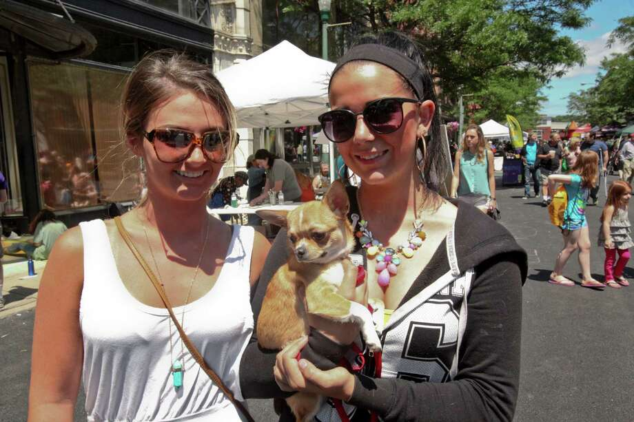 Were you Seen at the annual River Street Festival in downtown Troy on Saturday, June 14, 2014? Photo: Erin Pihlaja / Downtown Troy BID