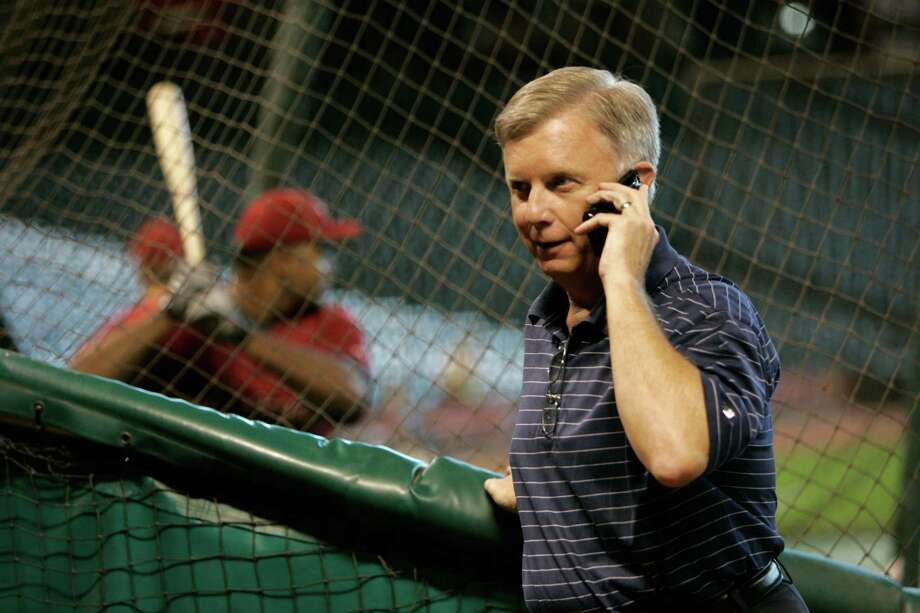 "Ed Wade carries ""a sense of pride"" about his four-year stint as Astros general manager. Despite a bad rap for leaving the farm system barren, Wade has seen several of his acquisitions become part of the team's core. Photo: Johnny Hanson, Staff / Houston Chronicle"