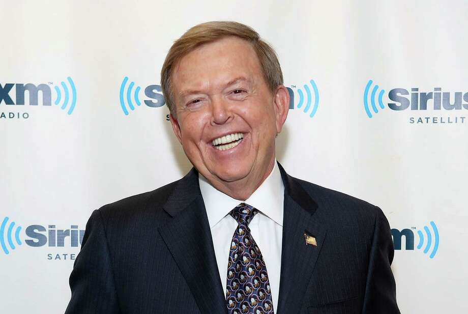 Lou Dobbs visits at SiriusXM Studios on January 8, 2014 in New York City. The Fox Business commentator has asserted that former President Obama violated an unwritten that targets sitting presidents. Photo: Robin Marchant, Getty Images / 2014 Robin Marchant
