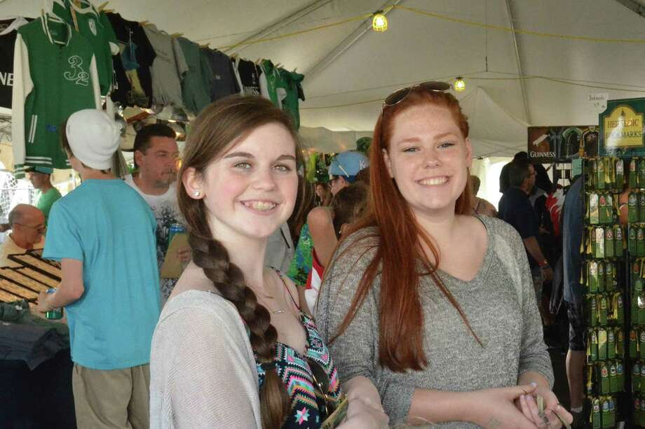 Festival goers enjoyed traditional Irish food, music, dancing and sports at the annual Fairfield County Irish Festival at Fairfield University. Were you SEEN on Saturday? Photo: Vic Eng / Hearst Connecticut Media Group