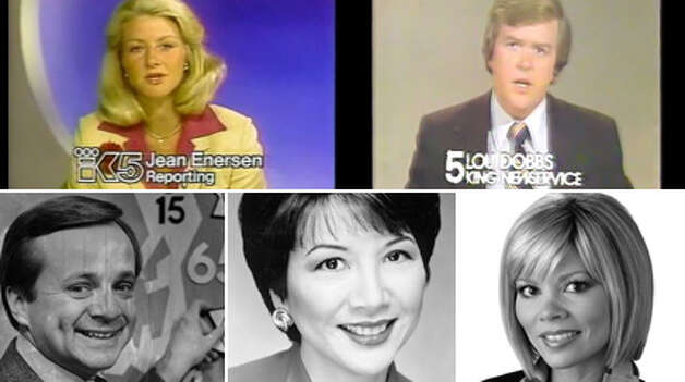 Here's a look back at Seattle's TV anchors, from Jean Enersen to Lori Matsukawa to Lou Dobbs, when he worked in Seattle.