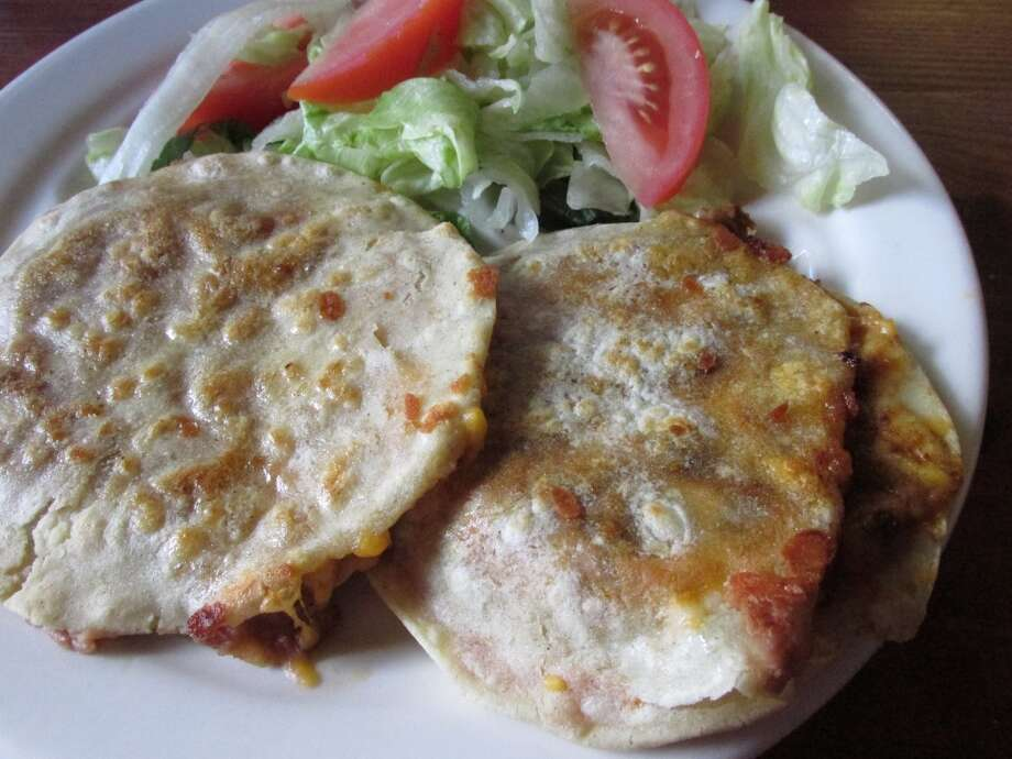 Sope with beef, cheese and beans at La Casita in Beaumont Photo: Grace Mathis/cat5