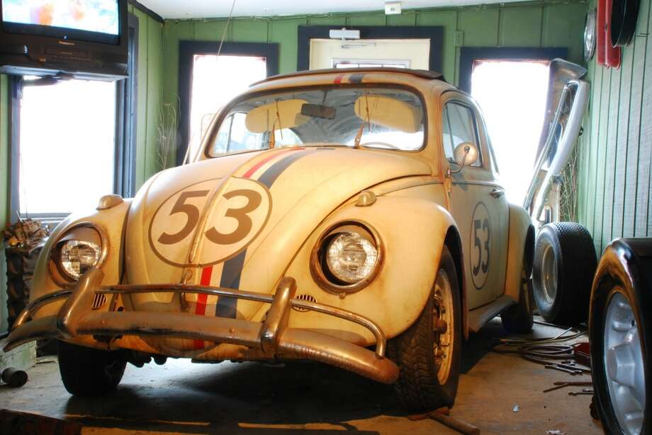 "Herbie, from the film, ""Herbie: Fully Loaded,"" is now parked at the Volo Auto Museum near Chicago. Photo: Courtesy Photo, Volo Auto Museum"