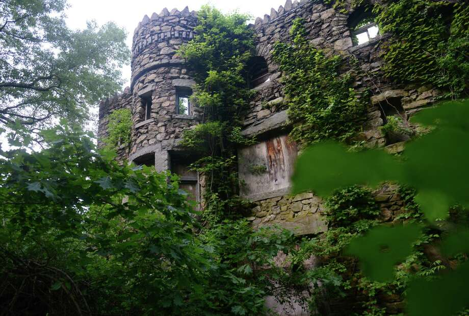 Danbury officials and castle preservationists are working to hire an engineer to repair the neglected Hearthstone Castle at Tarrywile Park in Danbury, Conn., shown here on Friday, June 13, 2014. Photo: Tyler Sizemore / The News-Times