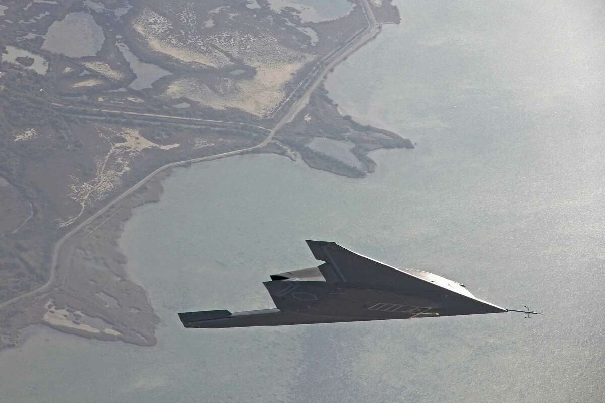 In this undated handout image supplied by Dassault Aviation on June 12, 2014, The nEUROn, an Unmanned Combat Air Vehicle (UCAV) or drone in flight in December 2013. The nEUROn, an Unmanned Combat Air Vehicle (UCAV) is developed under a European consortium led by French defence group Dassault.