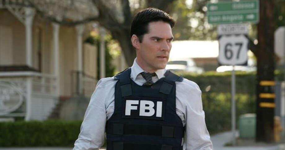 "S.A. resident and Spurs fan Thomas Gibson has been fired from ""Criminal Minds,"" his signature series. Photo: CBS"