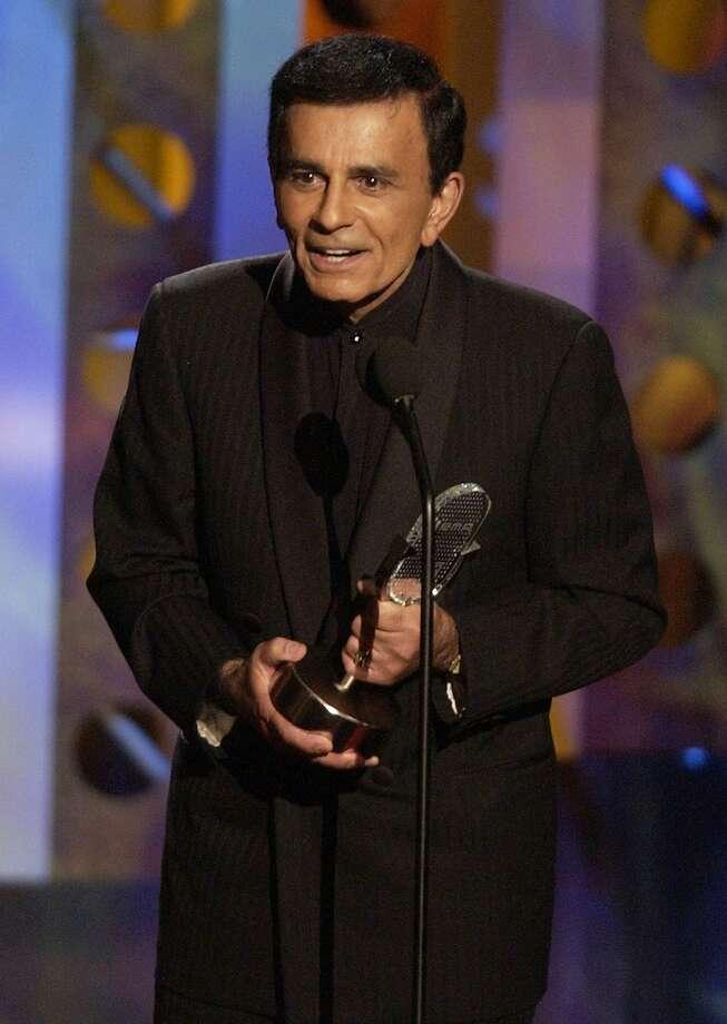"Casey Kasem began ""American Top 40"" in 1970 and hosted it for decades. Photo: Joe Cavaretta, Associated Press"
