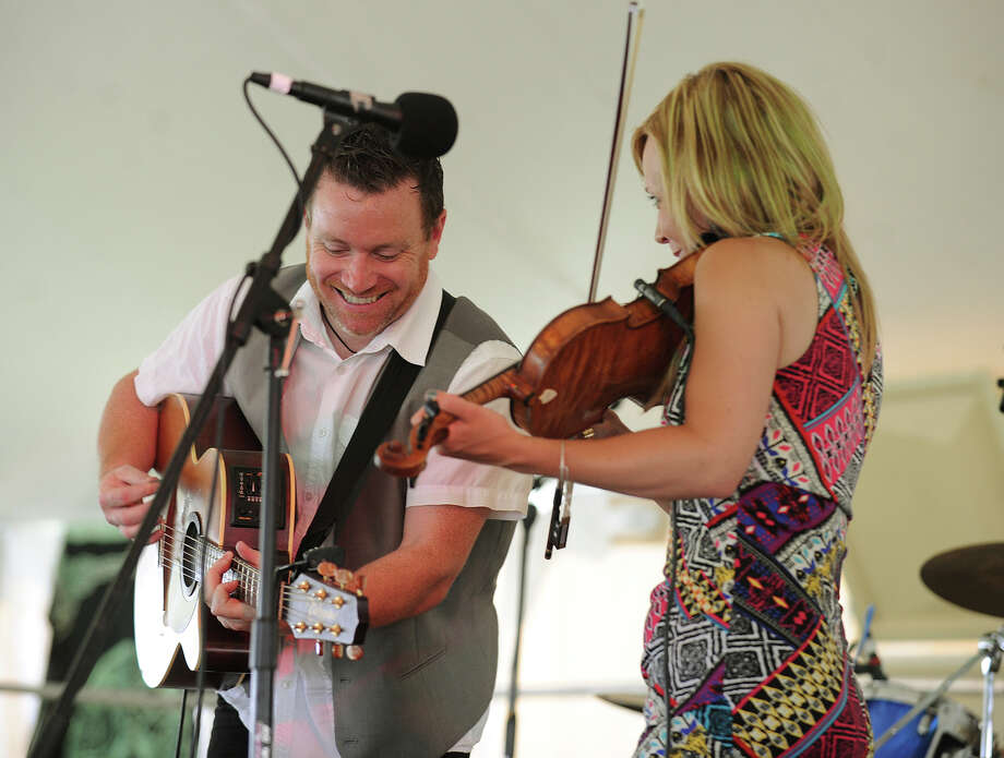 The McLean Avenue Band performs in the Main Tent at the annual Fairfield County Irish Festival at Fairfield University in Fairfield, Conn. on Sunday, June 15, 2014. Photo: Brian A. Pounds / Connecticut Post